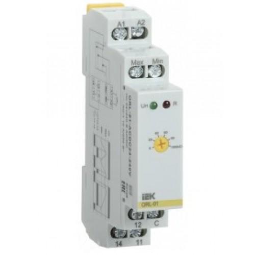 Реле контроля уровня ORL 24-240V AC/DC ИЭК ORL-01-ACDC24-240V