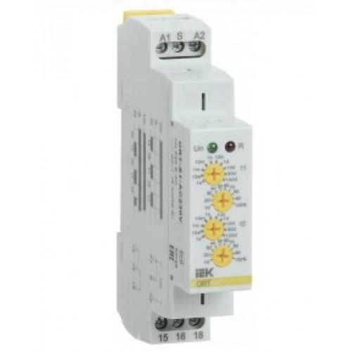 Реле циклическое ORT 1-контакт. 230В АС ИЭК ORT-S1-AC230V