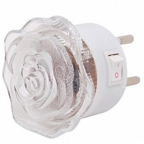 Светильник-подсветка светодиодный (ночник) LE LED NL-833 0.4W (Роза) LEEK