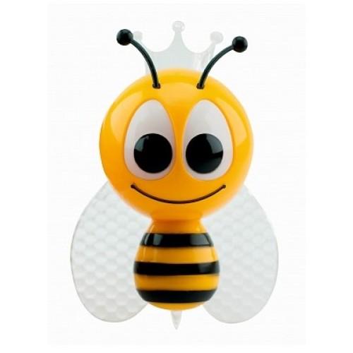Светильник-подсветка светодиодный (ночник) LE LED NL-852 0.5W RGB (Пчелка) LEEK