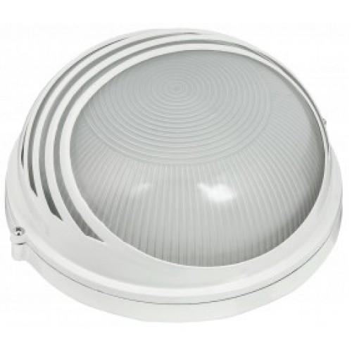 Светильник НПП1107 белый/круг ресничка 100Вт IP54 ИЭК