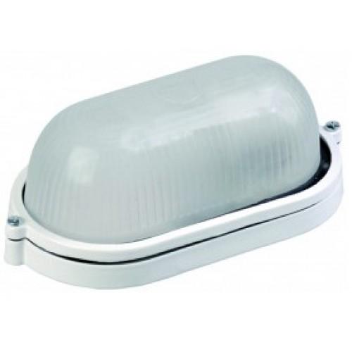 Светильник НПП1401 белый/овал 60Вт IP54 ИЭК LNPP0-1401-1-060-K01