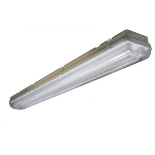 Светильник с люминесцентными линейными лампами 2х36Вт с ЭПРА  IP65 АЙСБЕРГ