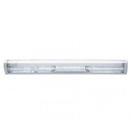 Светильник с люминесцентными линейными лампами ЛПО01-18-001 1х18W с ЭПРА Т8 G13 IP20