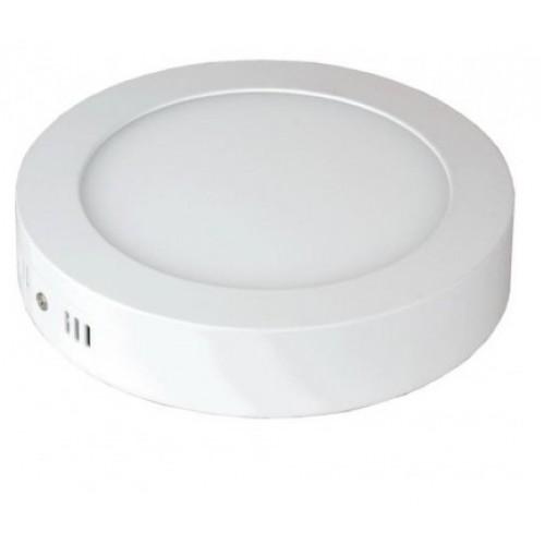 Панель светодиодная круглая NRLP-eco 6W 230V 4000K 420Лм 120mm белая наклад.IP40 IN HOME
