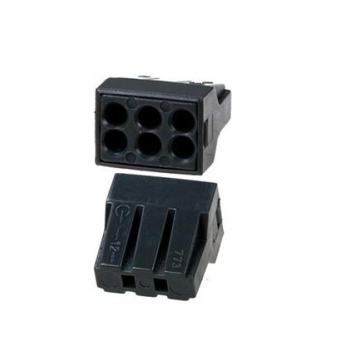 Клемма СМК 773-306 на 6 проводников с пастой
