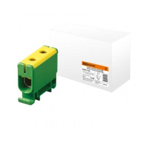 Клемма вводная силовая КВС 6-50мм желто/зеленая TDM SQ0833-0003
