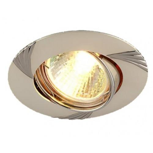 Точечный светильник 104А CF MR16 перл. сер./никель (PS/N) -68T