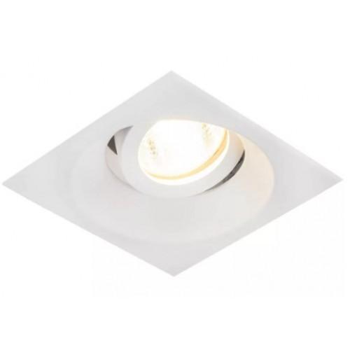 Точечный светильник 1051/1 MR16 WH белый (алюминиевый) поворотный Эл/станд.
