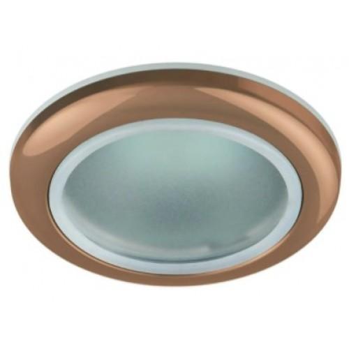 Точечный светильник 1080 MR16 GD золото влагозащищенный Эл/станд