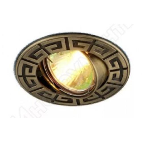 Точечный светильник 120090 MR16 бронза (SB)