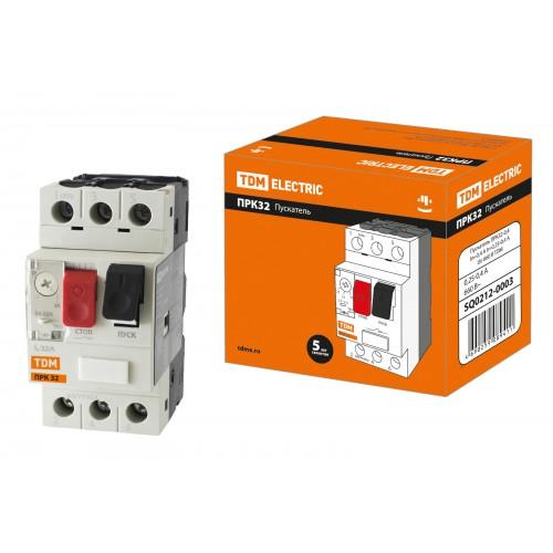 Контактор (пускатель) ПРК32-25, 25А(20-25А), 660В TDM SQ0212-0014