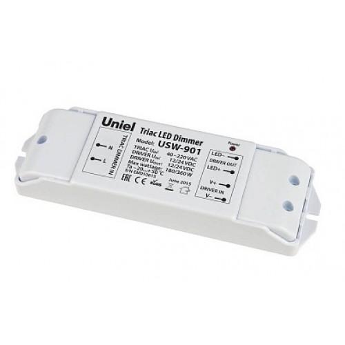 Диммер преобразователь для управления светодиодной лентой 11112 UNIEL