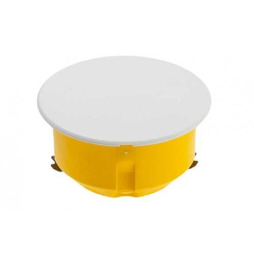 Коробка распаячная 80x45 с/у для полых стен кругл. желт. с белой крышкой ГИПРОК SCHNEIDER IMT35160