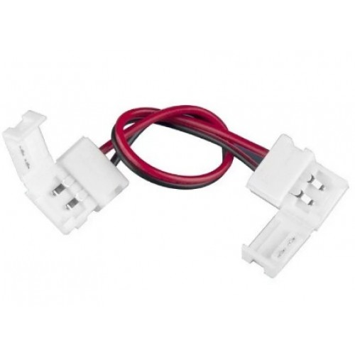 Коннектор 10 см для одноцветной светодиодной ленты 3528 двусторонний Эл/станд.