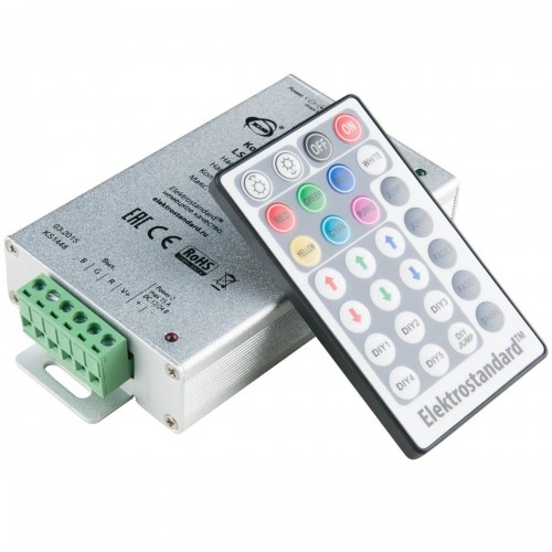 Контроллер для светодиодной ленты LSC 008 DC12V-12A RGB с ПДУ IP42 Эл/станд.