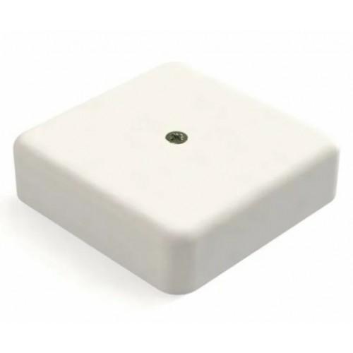 Коробка распаячная 100х100х30 белая с винтом СВ-Профиль