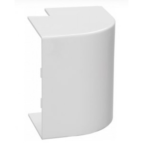 Внешний угол КМН 16х16 белый ЭЛЕКОР