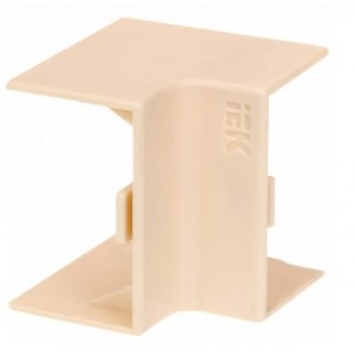 Внутренний угол КМВ 15х10 белый ЭЛЕКОР
