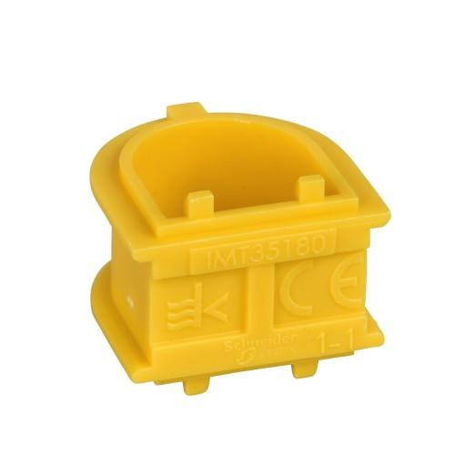 Соединитель для коробок установочный SCHNEIDER желтый IMT 35180