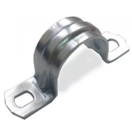 Скоба для крепления металлорукава двухлапковая D19-20 49376 Fortiflex