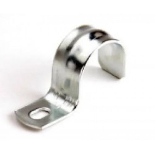 Скоба для крепления металлорукава однолапковая D16-17 49120 Fortiflex