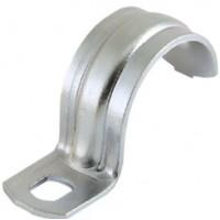 Скоба для крепления металлорукава однолапковая D31-32 49117 Fortiflex