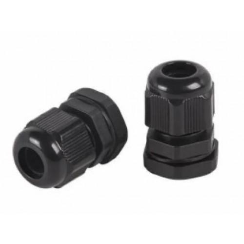 Кабельный ввод (сальник) PG-9 (4-8 мм) черный REXANT 07-8009-1
