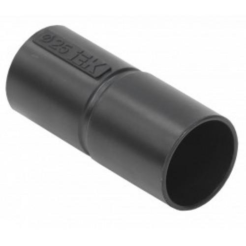Муфта труба-труба GL 25 G черная ИЭК