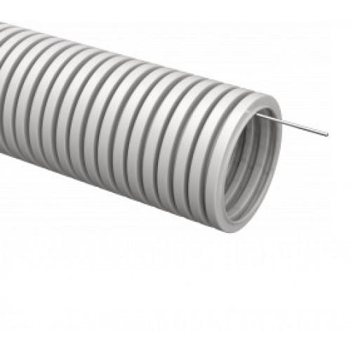 Труба ПВХ гофрированная с зондом D16мм (10 м/уп) ИЭК CTG20-16-K41-010I