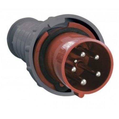 Вилка силовая переносная ССИ-035 3Р+N+PE 63A 380-415B IP 67 MAGNUM ИЭК