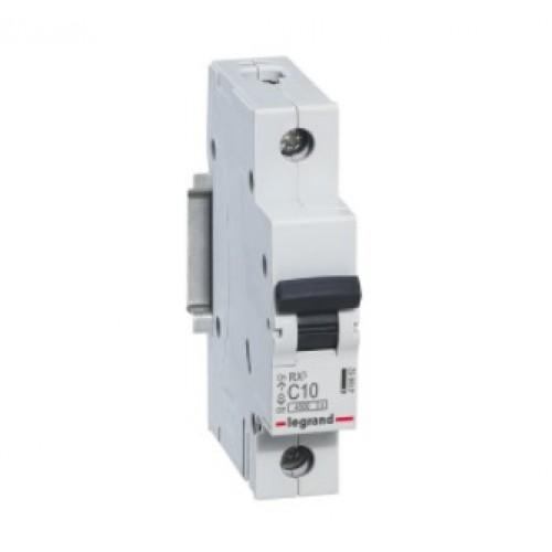 Автоматический выключатель LEGRAND С10А 1P RX3 419662