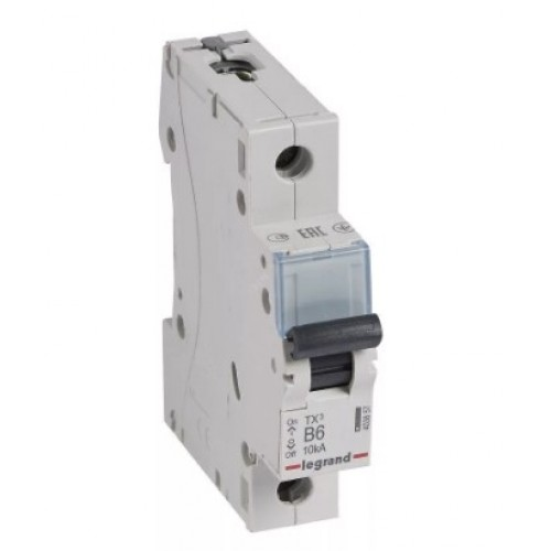 Автоматический выключатель LEGRAND С16А 1P 6kA TX3 404028А