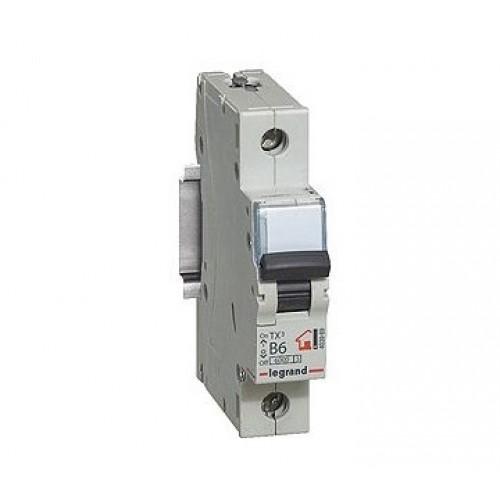 Автоматический выключатель LEGRAND С20А 1P 6кА TX3 404029