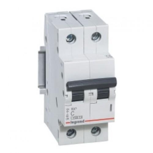 Автоматический выключатель LEGRAND С32А 2P RX3 4500 419700