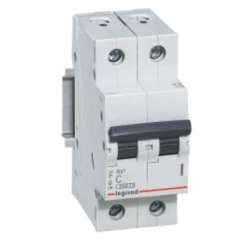 Автоматический выключатель LEGRAND С40А 2P RX3 4500 419701