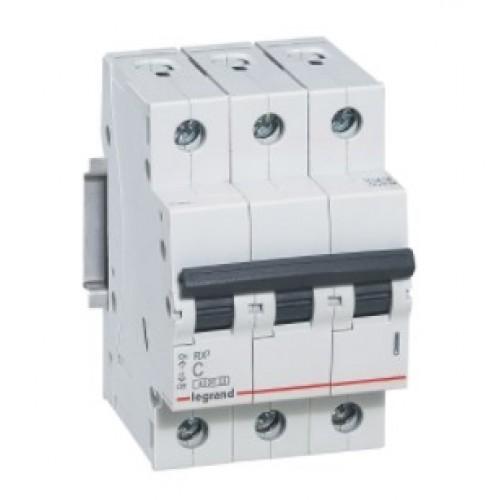 Автоматический выключатель LEGRAND С25А 3P RX3 4500 419710