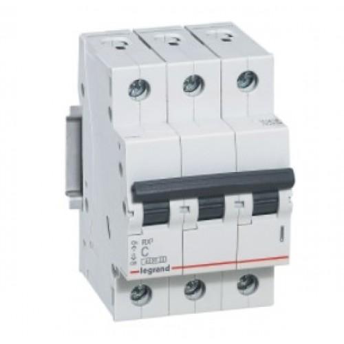 Автоматический выключатель LEGRAND С50А 3P RX3 4500 419713