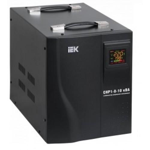 Стабилизатор напряжения HOME CHP 1/220 1,5кВА переносной ИЭК IVS20-1-01500