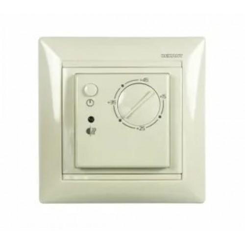 Терморегулятор механический RX-308B белый (совместим с Legran Valena) 51-0562