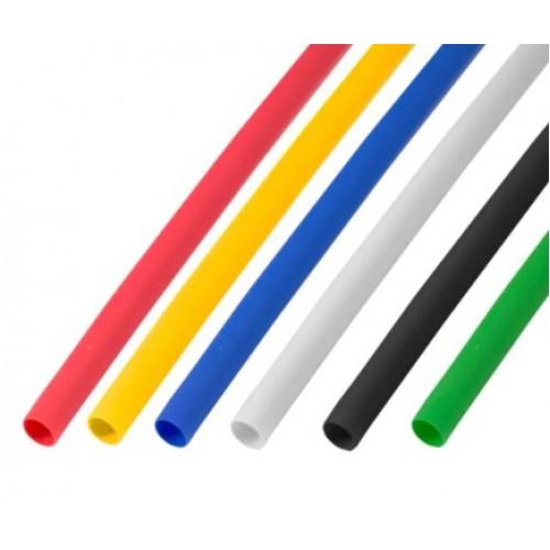 Термоусадочная трубка 4,0/2,0 мм 5 цветов в ассортименте 1м REXANT 29-0154