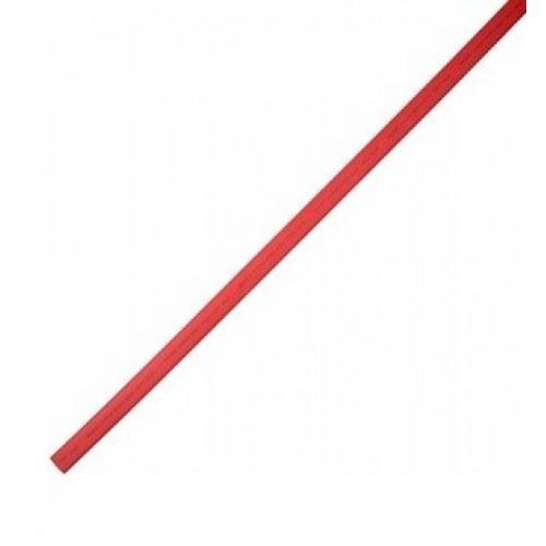 Термоусадочная трубка клеевая 18.0/6.0мм (3:1) красная, упак.10шт. по 1м. REXANT