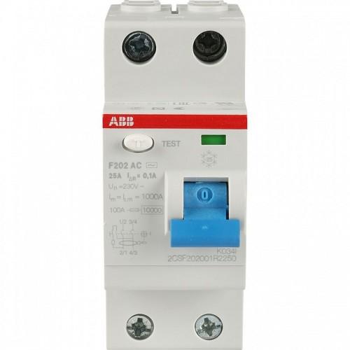 УЗО ABB 2 п 63А 30mA тип АС FH202