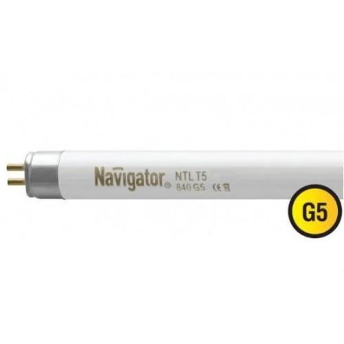 Лампа люминесцентная линейная 94120 NTL-T5-21-860-G5 21W Navigator