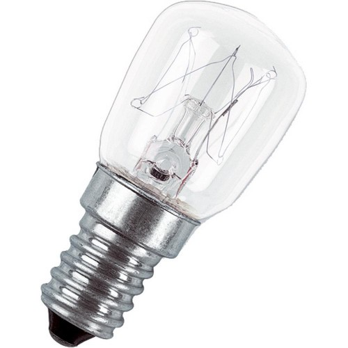 Лампа накаливания для холодильника Е14 15Вт