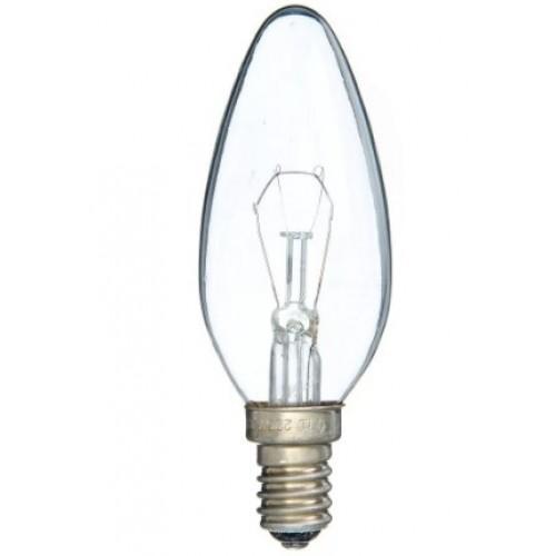 Лампа накаливания ДС 230-40  В36 Е14 40 Вт свеча
