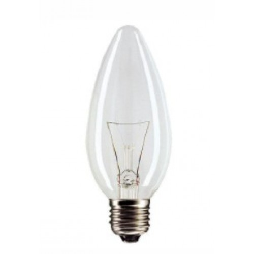Лампа накаливания ДС 230-40 В36 Е27 40Вт 230В Свеча калашниково