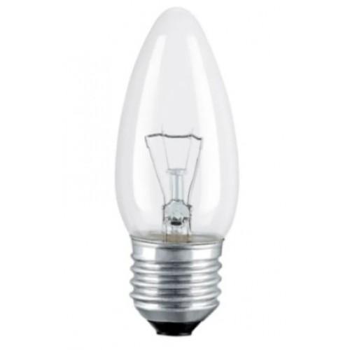 Лампа накаливания ДС 230-60 В36 Е27 60Вт 230В свеча