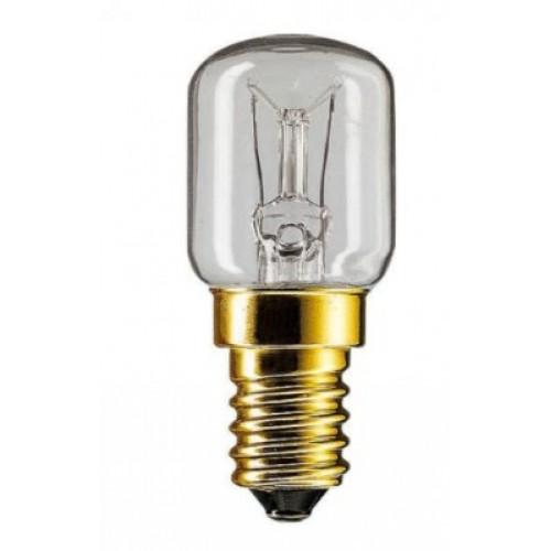Лампа накаливания для духовки Е14 25Вт 230В 2700К PHILIPS