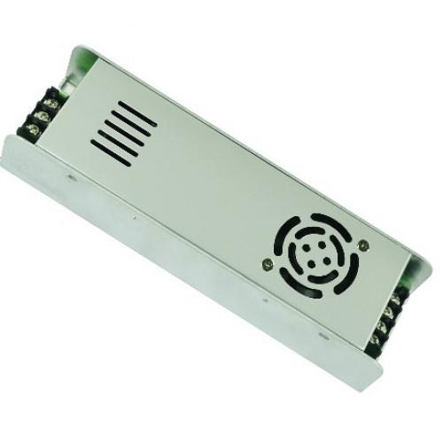 Трансформатор (блок питания метал) 12V 30A 360W IP20 с клемн.колод.UET-VAS-360A20 UNIEL